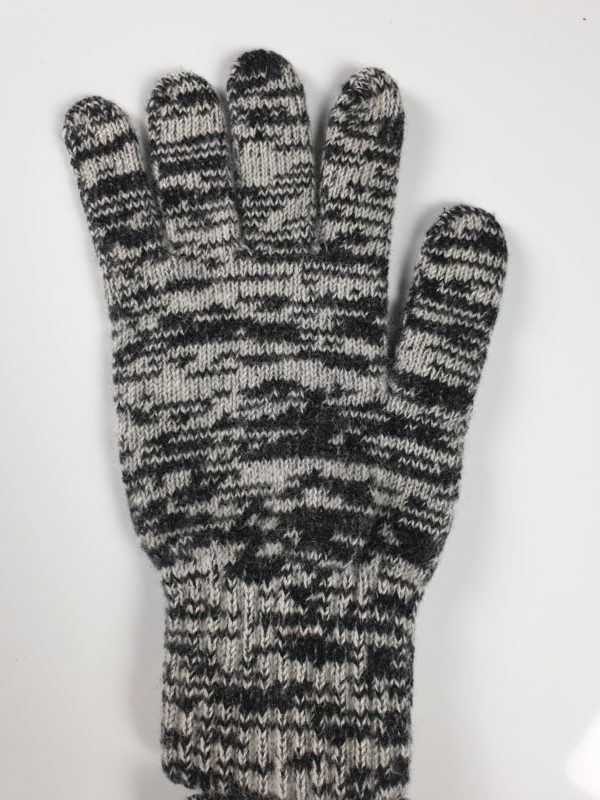 product image of cashmere gloves in black and grey - product ID: 841 - https://cashmereglovesandscarves.co.uk/