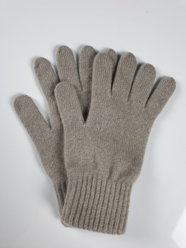 product image for a pair of cashmere gloves in nickle - product id: 844 - cashmereglovesandscarves.co.uk