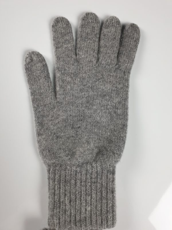 product image for a pure cashmere glove in cygent grey - 800x600 - product id: 847 - cashmereglovesandscarves.co.uk