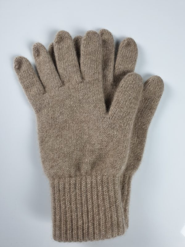 product image for a pair of light brown stone age cashmere gloves - 800x600 - product id: 848 - cashmereglovesandscarves.co.uk