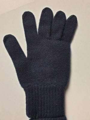 product image for a pair of blackberry blue pure cashmere gloves made in Scotland - 600x800 - product id:969 - cashmereglovesandscarves.co.uk