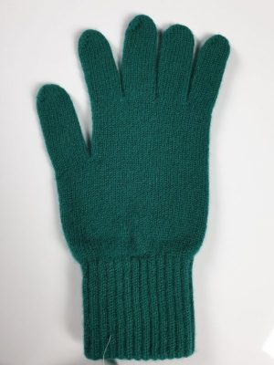 product image for a pair of forest green pure cashmere gloves made in Scotland - 600x800 - product id:942 - cashmereglovesandscarves.co.uk