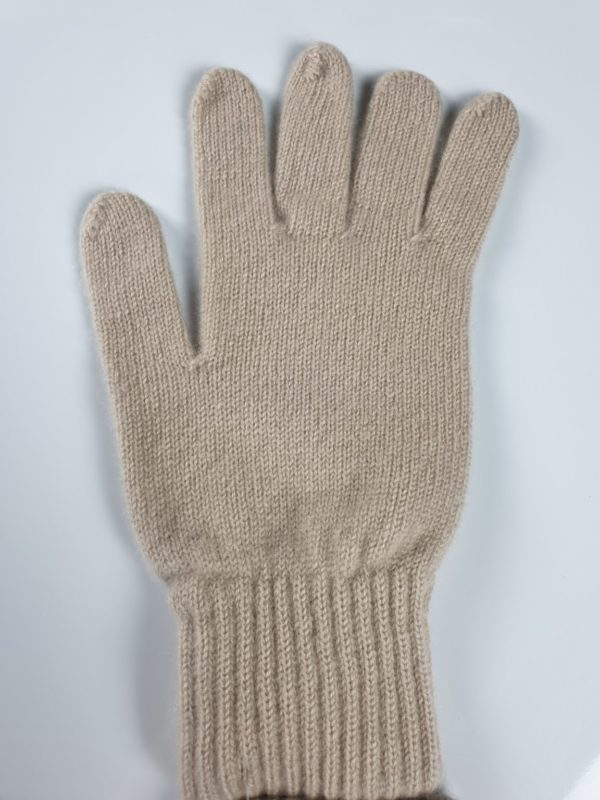 product image for a natural light brown cashmere glove made in scotland - 800x600 - product id: 882 - cashmereglovesandscarves.co.uk