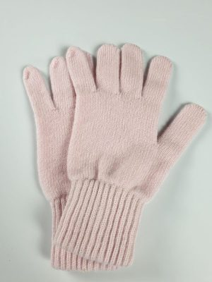 product image for a pair of blush pink cashmere glove made in Scotland - 800x600 - product id: 884 - cashmereglovesandscarves.co.uk