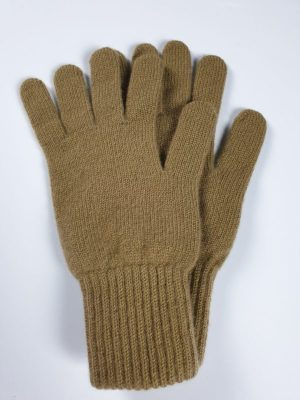 product image for a pair of flaxen brown pure cashmere gloves made in Scotland - 600x800 - product id:922 - cashmereglovesandscarves.co.uk