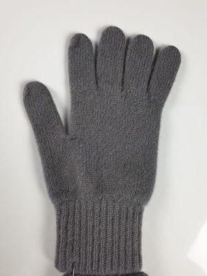 product image of single cashmere glove in grey heron - product id: 842 - https://cashmereglovesandscarves.co.uk/