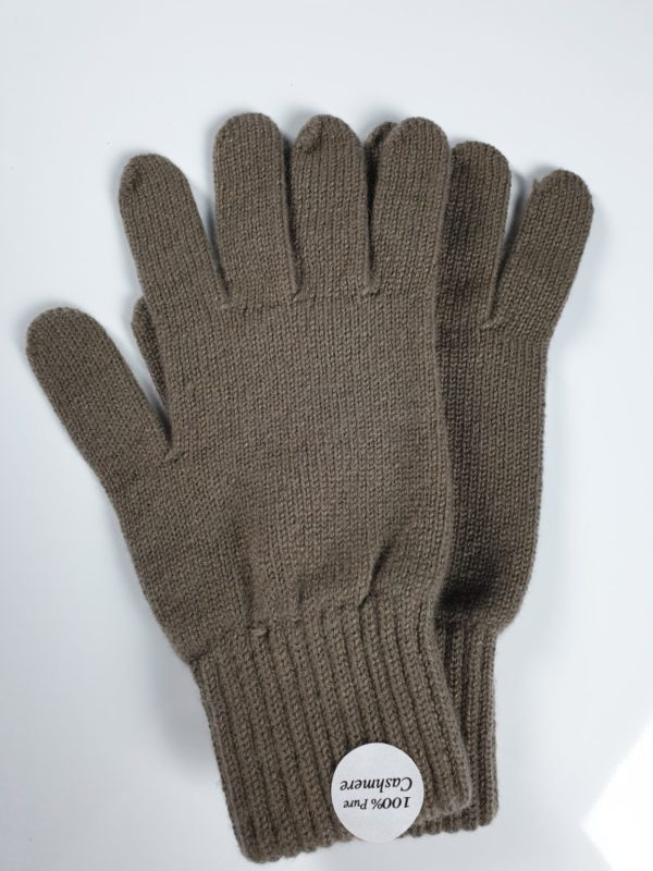 product image for a pair of koala brown pure cashmere gloves made in Scotland - 600x800 - product id:928 - cashmereglovesandscarves.co.uk