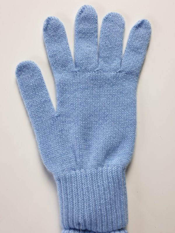 product image for a pair of olympic blue pure cashmere gloves made in Scotland - 600x800 - product id:976 - cashmereglovesandscarves.co.uk