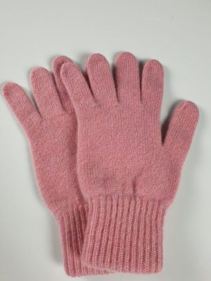product image for a pair of rose pink cashmere gloves made in Scotland - 800x600 - product id: 886 - cashmereglovesandscarves.co.uk