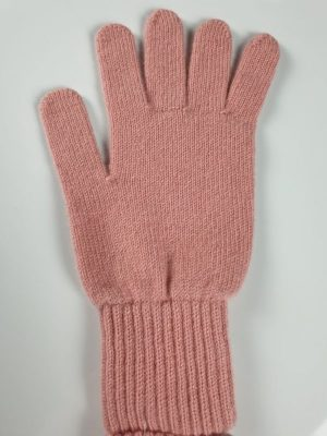 product image for a powder puff pink cashmere glove made in Scotland - 800x600 - product id: 887 - cashmereglovesandscarves.co.uk
