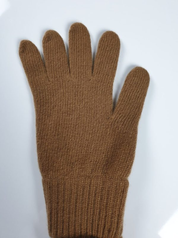 product image for a pair of sandwood brown pure cashmere gloves made in Scotland - 600x800 - product id:925 - cashmereglovesandscarves.co.uk