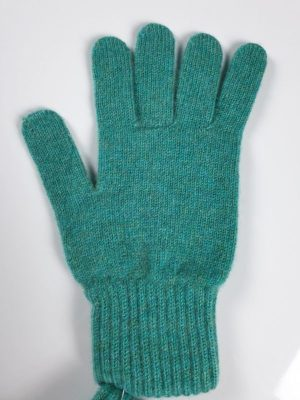 product image for a pair of sea green pure cashmere gloves made in Scotland - 600x800 - product id:946 - cashmereglovesandscarves.co.uk