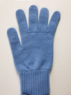 product image for a pair of suez blue pure cashmere gloves made in Scotland - 600x800 - product id:975 - cashmereglovesandscarves.co.uk