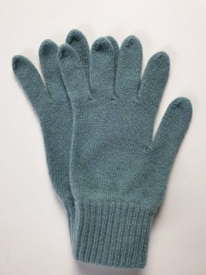 product image for a pair of teal pure cashmere gloves made in Scotland - 600x800 - product id:984 - cashmereglovesandscarves.co.uk