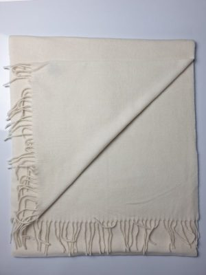 product image of a pure cashmere shawl in cream 600x800 - cashmereglovesandscarves.co.uk