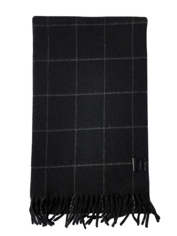 product image of a black pure cashmere scarf 600x800 - cashmereglovesandscarves.co.uk