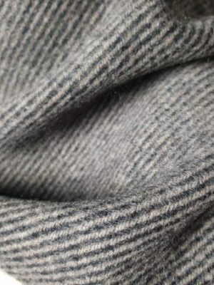 product image of a pure cashmere scarf in light brown and black stripes 600x450 - cashmereglovesandscarves.co.uk