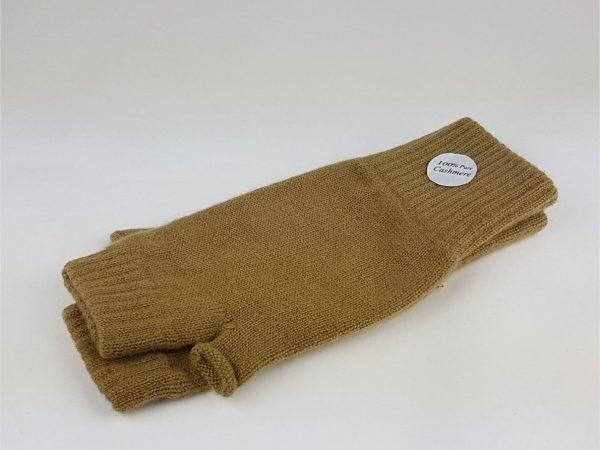 product image of flaxen cashmere wrist warmers - cashmereglovesandscarves.co.uk